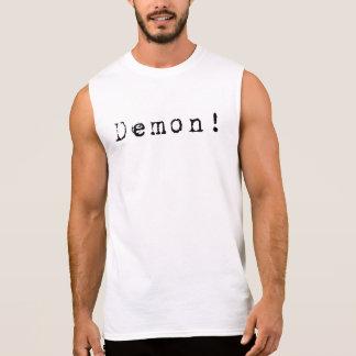 Dämon-schwarz Ärmelloses Shirt