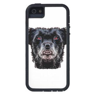 Dämon-schwarzer Hundekopf Hülle Fürs iPhone 5
