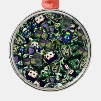 Dämonen und Puppen, ursprünglicher Entwurf der Silbernes Ornament