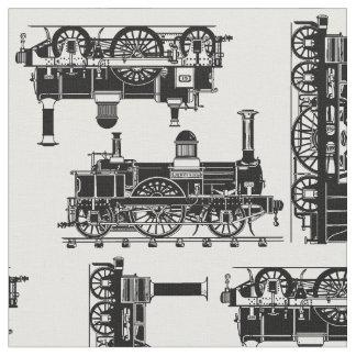 Dampf bildet klassische Vintage viktorianische Stoff