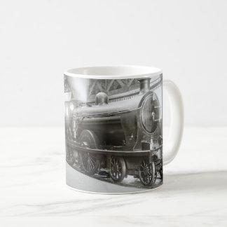 Dampf-Lokomotive (Dame von Avenal) Kaffeetasse