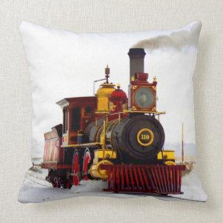Dampf-Lokomotive im Schnee Kissen