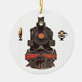 Dampf-Lokomotive Keramik Ornament