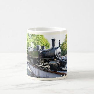 Dampf-Motor, Frankreich Kaffeetasse