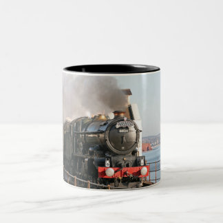 Dampf-Motor GWR König-Edward 1 Zweifarbige Tasse