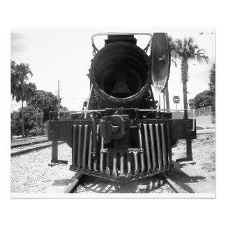 Dampf-Motor-Zug-Kanonenkugeleillokomotive Fotodruck