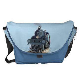 Dampf-Motor-Zug-Rickshaw-Bote-Tasche Kuriertasche