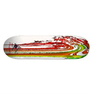 Dampf roh 21,6 cm skateboard deck