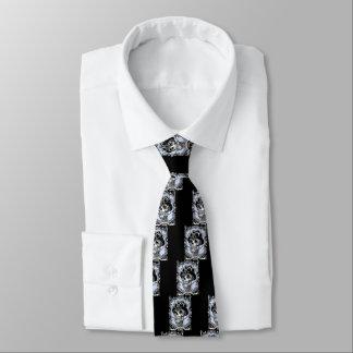 Dampf Skullabee Krawatte