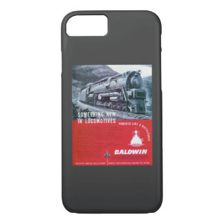 Dampf-Turbine Baldwin LokomotiveS-2 PRR iPhone 8/7 Hülle