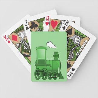 Dampf-Zug Bicycle Spielkarten