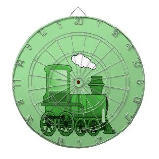 Dampf-Zug Dartscheibe