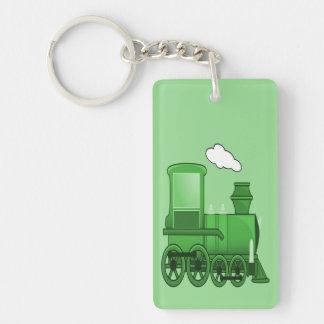 Dampf-Zug Schlüsselanhänger