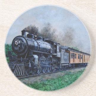 Dampf-Zug-Untersetzer