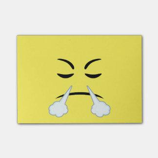 Dämpfen von Emoji Post-it Klebezettel
