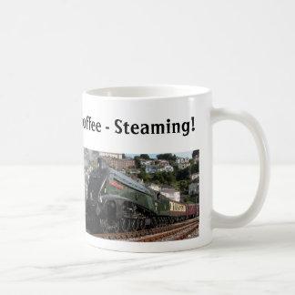 Dämpfender heißer Kaffee Kaffeetasse