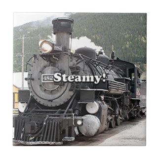 Dampfig!: dämpfen Sie Zug-Motor, Colorado, USA 8 Keramikfliese