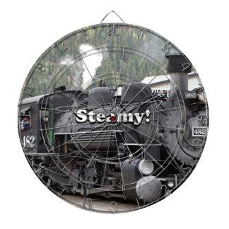 Dampfig!: Dampfzug-Motor, Colorado, USA Dartscheibe