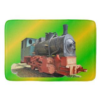 Dampflokomotive Badematte