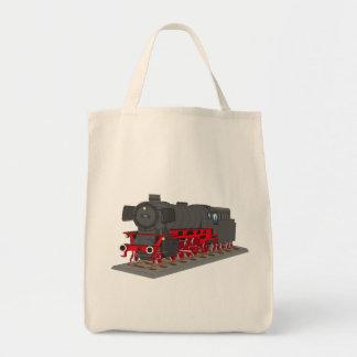 Dampflokomotive Tragetasche