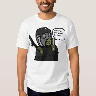 Dämpfungsregler-Soldat T Shirt