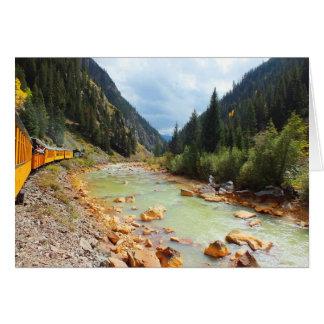 Dampfzug nach Durango Karte