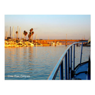 Dana- Pointjachthafen-Postkarte Postkarte