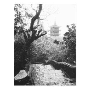 Danang Vietnam, Tempel-Ansicht-Marmor-Berg Postkarte