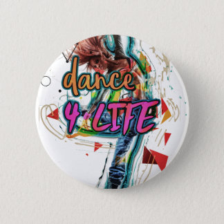 Dance4Life Energie Runder Button 5,1 Cm