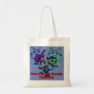Dancin Prancin Ren-Taschen-Tasche Tragetasche