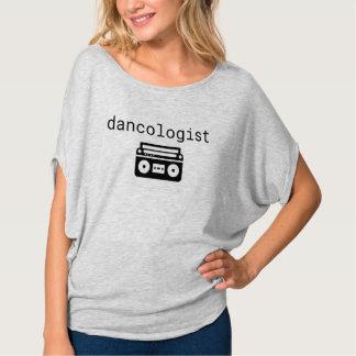 Dancologist   Tanz-Training Flowy Kreis-Spitze T-Shirt