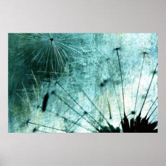 Dandelion Art  - Pusteblume Kunst 2012 006 Poster