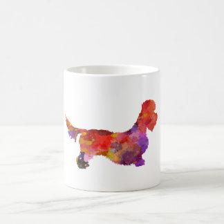 Dandie Dinmont in Watercolor 2 terrier Kaffeetasse