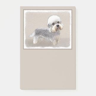 Dandie Dinmont Terrier, das ursprüngliche Post-it Klebezettel