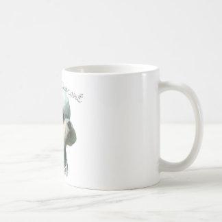 Dandie Dinmont Terrier Vati 2 Kaffeetasse