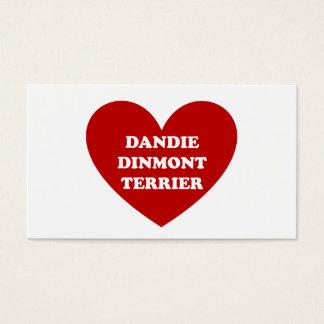 Dandie Dinmont Terrier Visitenkarte