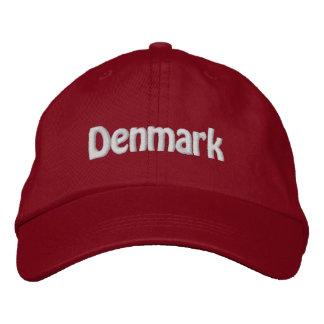 Dänemark. Dänischer Stolz! Bestickte Baseballkappe