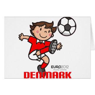 Dänemark - Euro 2012 Karte
