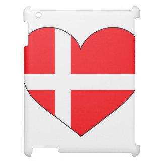 Dänemark-Flagge einfach iPad Cover