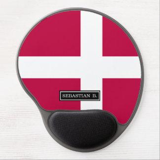 Dänemark-Flagge Gel Mousepad