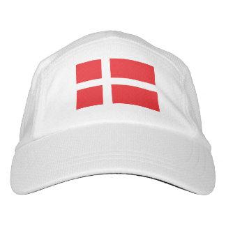 Dänemark-Flagge Headsweats Kappe