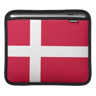 Dänemark-Flagge iPad Sleeves