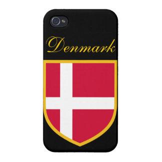 Dänemark-Flagge iPhone 4/4S Hüllen