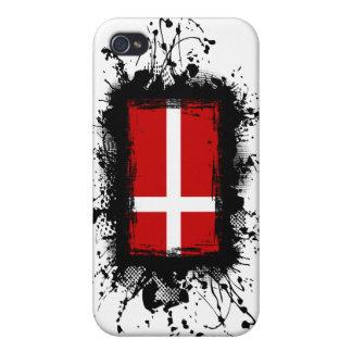 Dänemark-Flagge iPhone 4 Hüllen
