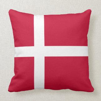Dänemark-Flagge Kissen