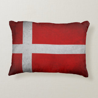 Dänemark-Flagge - Kissen