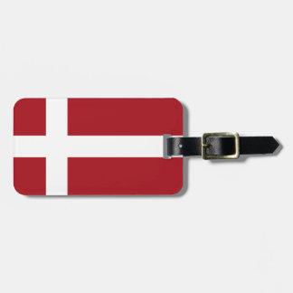 Dänemark-Flagge Kofferanhänger