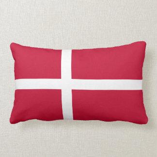 Dänemark-Flagge Lendenkissen