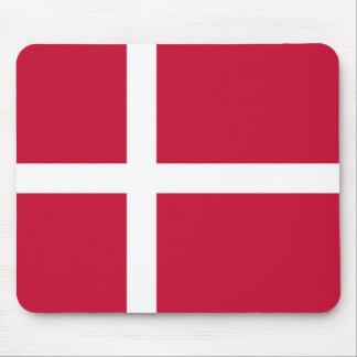 Dänemark-Flagge Mauspad