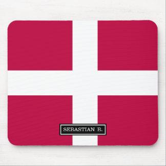 Dänemark-Flagge Mousepads